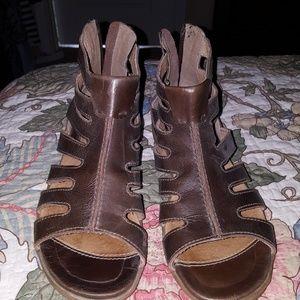 Sanita Dagny Cage Gladiator Sandals